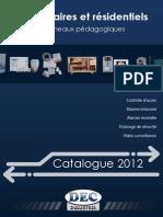 Catalogue Kits Pedagogiques Tertiaires