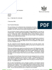 Letter of Law Society (UK) to President of Russia 7 December 2009