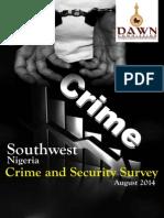 Southwest Crime Survey Report PDF