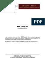 BEx Analyzer Instructions (1)