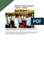 Keluar Dari Malaysia Tidak Menjamin Keselamatan Sabah - Shafie