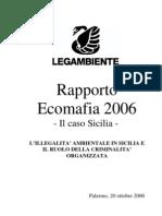 Ecomafie_dossier 2006 - Capitolo La Sicilia