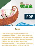 Happy Onam !!
