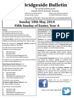 2014-05-18 - 5th Easter A