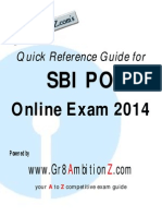 SBI PO Quick Reference Guide Gr8AmbitionZ