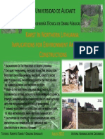 CARTEL. Karst in Northern Lithuania. Implications for Environment and Building Constructions