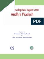 Andhra pradesh human development report 2007 Messages, Preface