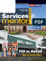 Civil Services Mentor November 2012(Upscportal)