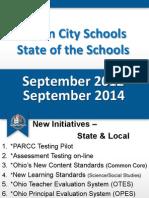 Lorain Schools State of the Schools