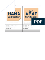 SAP Certification-Master File
