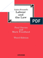 Labour and the Law, 3rd Ed.