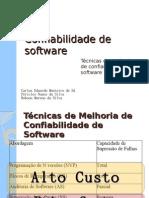 Confiabilidade de Software Completo