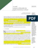 o Papel Da Subjetividade Na Efetivação Dos Direitos Das Empregadas Domésticas No Brasil
