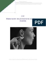 2 2 Procesos Tecnicas y Materiales Usados en La Fabricacion de Protectores Auditivos a Medida