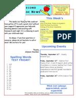 September 5 Newsletter