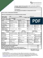 Cerere de Emitere Card de Credit MasterCard Standard Superplus_26.10.2011