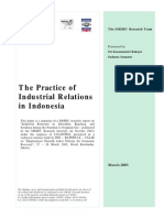 The Practice of Ir in Indonesia