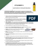 Die Safety Blocks Worksheets
