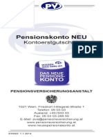 Pensionskonto NEU Kontoerstgutschrift Stand01012014