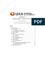 Funcion Lineal y Ecuacion de La Recta
