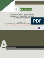 OpinionWay pour CLAI _Metro_LCI-Questions d'actualité-Sept2014