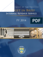 FY 2014 Budget in Brief