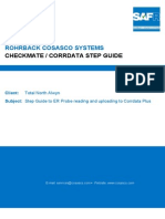 Corrdata Step Guide