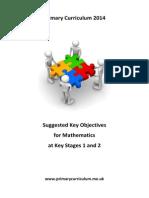 Maths Key Objectives