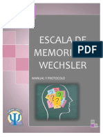 Portada Memoria Wechsler