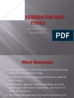 Wind Generator and Types
