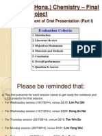 FYP (Oral Assessment and Guides-Part I)