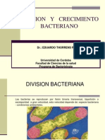 Division y Crecimiento Bacteriano (1)