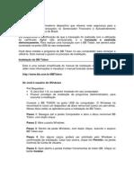 BB Token Manual Do Usuario - Windows