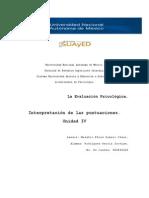 La Evaluacion Psicologica_Unidad 4 _ Interpretación de Las PuntuacioneS _ Jos Rdz.pdf