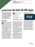 Empresas Vão Abrir 10.415 Vagas No ES - A Tribuna 19-07-2013 - Pág. 2