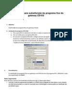 Substituição Do Programa Fixo CD103x