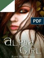 #1-Alpha Girl de Kate Bloomfield-Saga Wolfling(1)