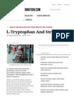 L-Tryptophan and Stroke _ Aminoacidinformation