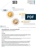 Cloud PBN Review – Pre Launch Inside Info!