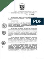 Directiva que regula la inscripción de los actos y derechos de las comunidades campesinas. Resolución 343-2013-SUNARP/SN