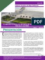 Mercado Potencial de Visitantes Del Sur de Baja California