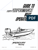 Performance Boat Terms