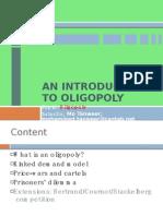 Oligopoly MASTER 2009-10 v2
