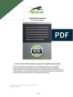 2014 New Models vs Competition Dealer Guide US 8-7-13