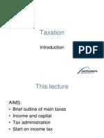 Taxation - Introduction (1)