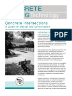 TB019P Concrete Intersections – a Guide for Design and Construction