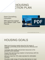Milton Housing Production Plan Presentation