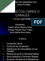 Conductos Libres - Flujo Uniforme