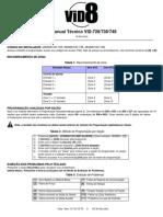Manual VID-728-738-748