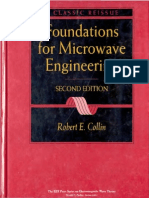 Robert E. Collin Foundations for Microwave Engineering 2000